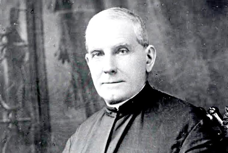 Father Giuseppe Cataldo, a pioneering missionary in the Pacific Northwest, founded Gonzaga University in Spokane in 1887 to serve the growing Catholic population in the area. (Gonzaga University Archives)