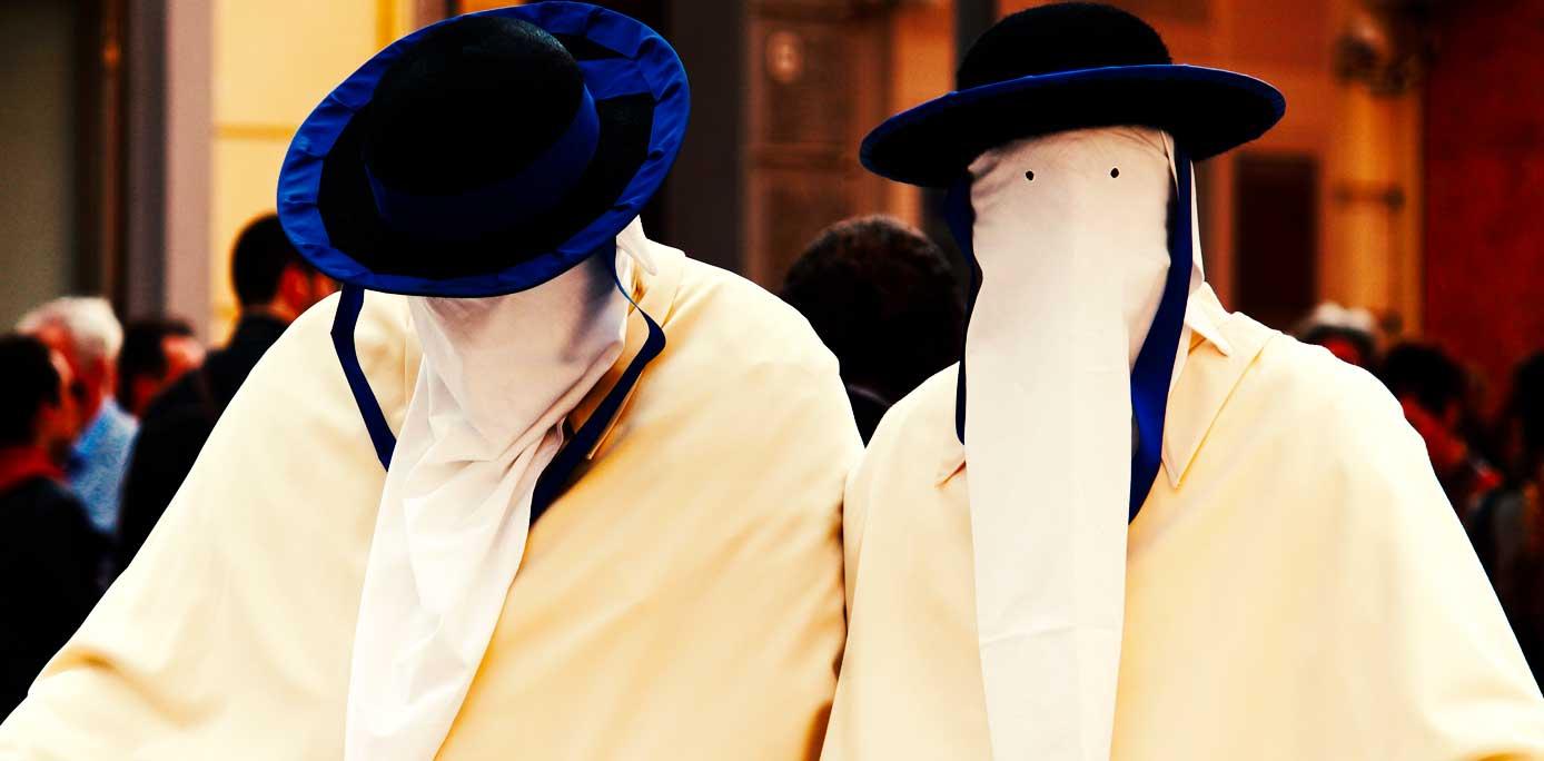 Members of the Arciconfraternita del Carmine