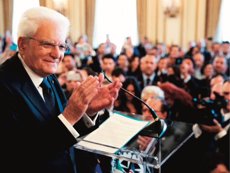 San Francisco welcomes President Sergio Mattarella during a three day visit in the Bay Area