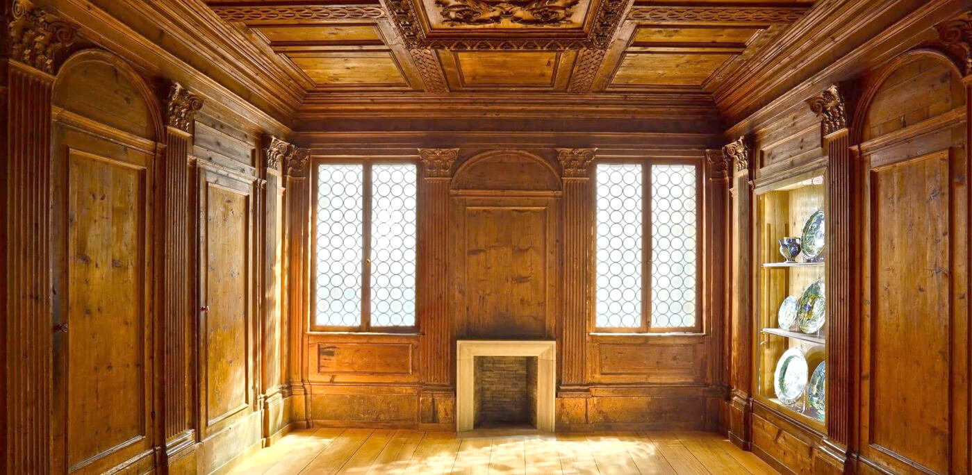 The Seattle Art Museum's 16th-century Italian Room is one of the oldest wood-paneled rooms on display in the U.S. (Nathaniel Willson)