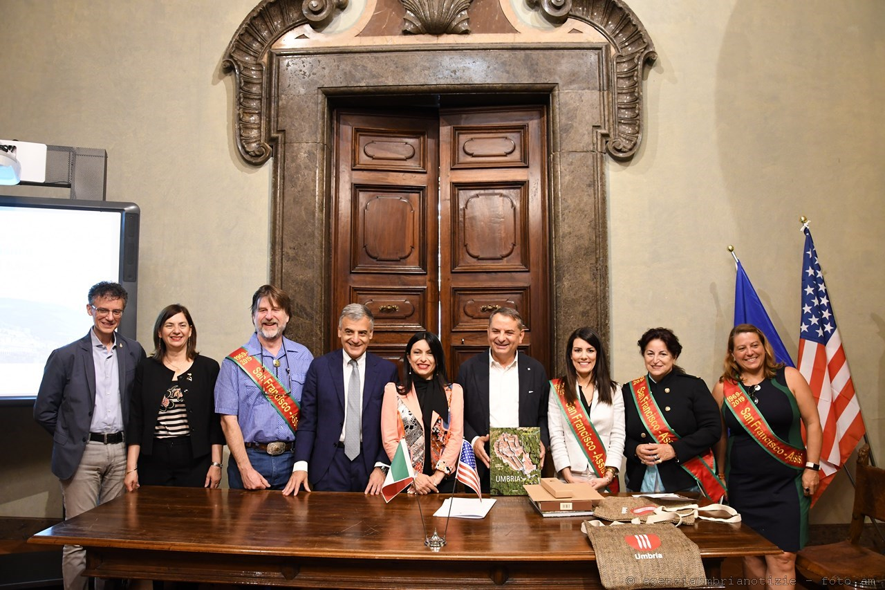 San Francisco and Assisi honor their first 50 years as Sister Cities